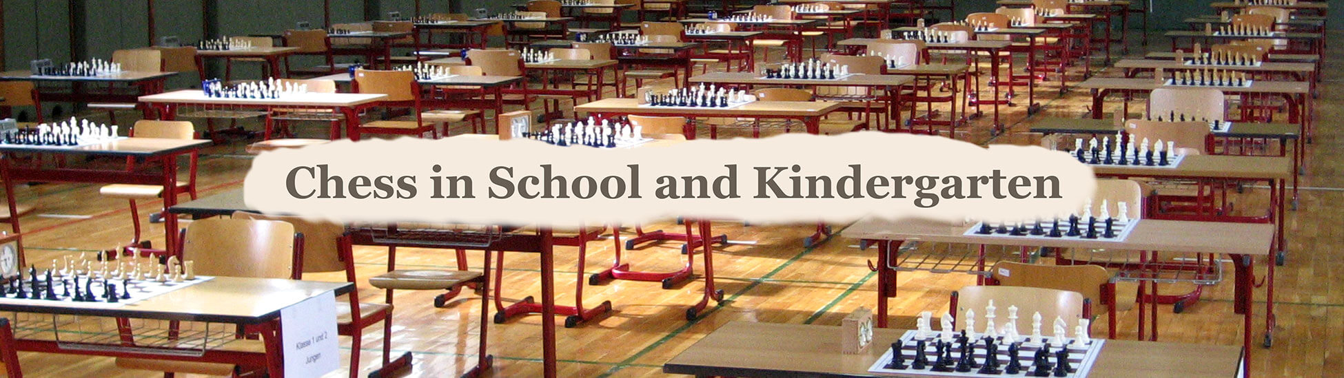 chess in school and kindergarten